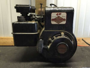 cheap 4hp, L head Briggs horiz engine or its valves wanted