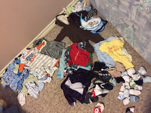 Lot of baby boy clothes 0-3 months
