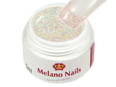 Glitter UV Gel Made in Germany 5ml Glitter Rainbow