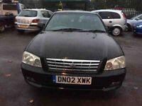 KIA MAGENTIS 2.5 V6 2002 VERY LOW MILES 42000 STARTS AND DRIVES