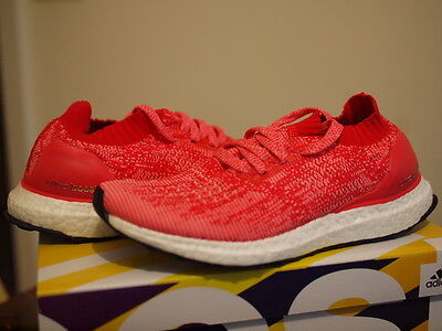 Brand New ADIDAS ULTRA BOOST Uncaged Ray Red/ Shock Red UK8.5 US9 EU42.6 DS