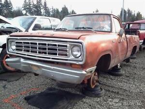 72-80 Dodge Pickup Parts Truck Wanted