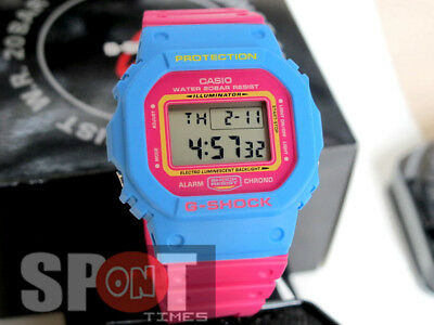 Casio G-Shock 80s Street Fashion Colors Men's Watch DW-5600TB-4B
