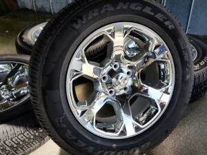 Ram Laramie Tires and rims