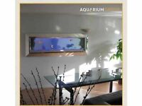 Trough wall aquarium ASAP
