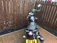 125 csr code Motorbike