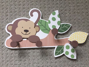 Monkey theme baby boy nursery lot Kitchener / Waterloo Kitchener Area image 1