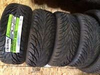 4 x 205/50-17 Federal Tires New