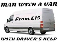 MAN WITH A VAN / PICKUP / REMOVAL & HIRE SERVICES