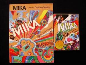 Mika - Life In Cartoon Motion Songbook & DVD [Piano/Vocal/Guitar] Loganholme Logan Area Preview