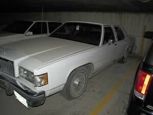 1985 MERCURY GRAND MARQUIS-MINT CONDITION