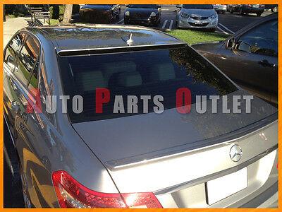 Benz W212 E250 E350 E63AMG Sedan Painted OE Type Roof Spoiler Rear Wing 10-14