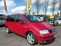 LATE 2005 SEAT ALHAMBRA STYLANCE TDI 7 SEATER LONG MOT EXCELLENT EXAMPLE