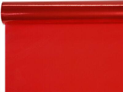 3 Red Cellophane Wrap 30