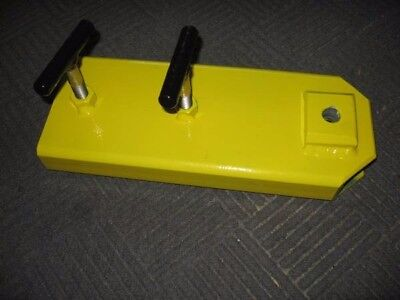 Forklift Clamp-on Towing Attachment- 1-7.8 Hitch Ball