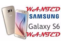 GALAXY S6 EDGE WANTED *********