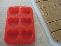 Silicon Heart Molds for Sale