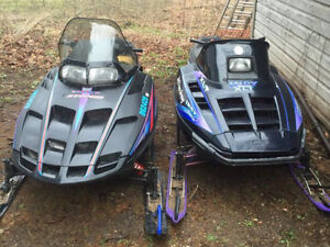 Polaris Sleds for Parts or Fix!