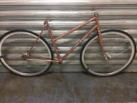 EDDIE KOEPLER VINTAGE LADIES ROAD BIKE FRAME VITUS 172