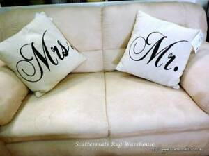 Mr & Mrs Word Cushions