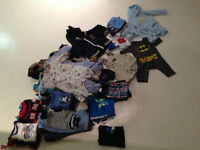 0 to 9 months baby boy clothes