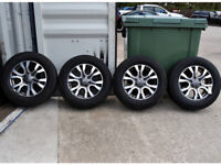 """18"""" GENUINE FORD RANGER WILDTRAX ALLOY WHEELS & TYRES"""