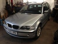 Breaking BMW E46 318i Touring 2002 Titan Silver Metallic Dismantling All Parts Available