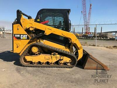 2016 Cat 259d High Flow