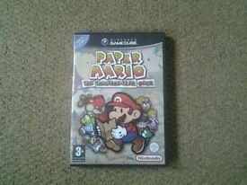 Paper Mario: The Thousand-Year Door Gamecube game