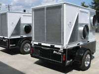 Trailer Mounted 10 Ton Spot Air Conditioning Units For Rent