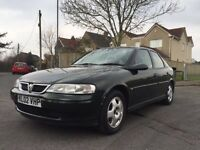 2002 VAUXHALL VECTRA CLUB WITH END SEPTEMBER MOT!!