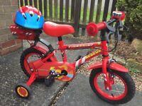 Apollo firechief bike and helmet