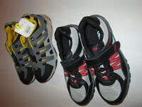 2 NEW pairs of boys shoes size 2 and size 3 - $10 for both
