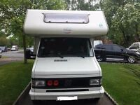 DIESEL 5 berth ducato TEC {left hand drive}2.5d with seatbelts BUY TODAY £5500