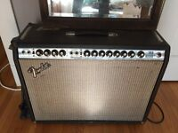 Fender Twin Reverb Silverface w/ Master + Gain knobs ('70s)