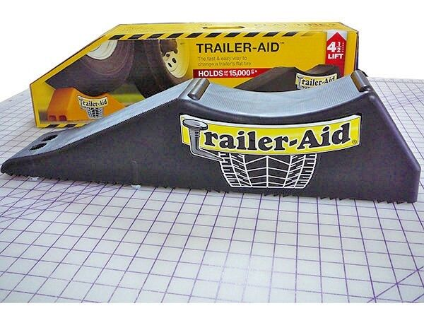 RV Camper Trailer Aid Tandem Tire Changing Ramp Black Trailer Aid NEW