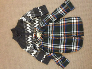Boys Children's Place Sweater and Shirt