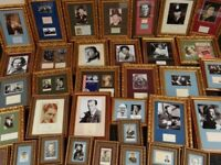 Large collection of Original Vintage Music Hall Signed Autographs