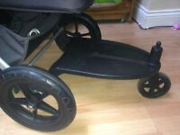 Bugaboo wheeled board for(Cameleon 1,2,3,frog,gecko) come with adapters