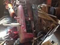 1954 Farmall super h series 2 Pulling tractor     z castings