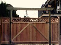 Good deal cedar fence installation
