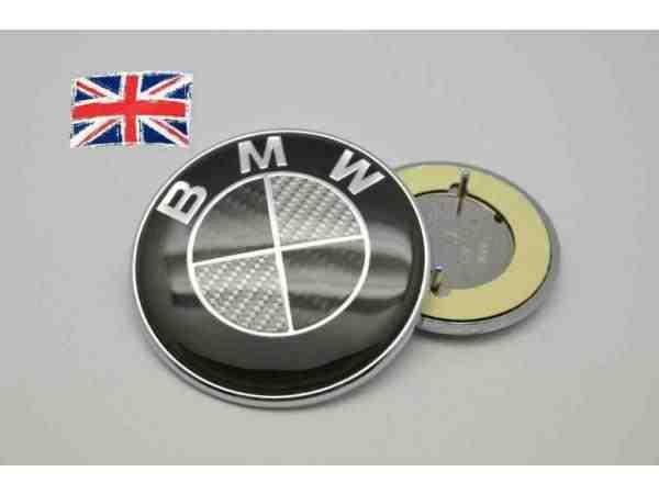 bmw e46 covertible 60mm boot tailgate carbon fibre badge. Black Bedroom Furniture Sets. Home Design Ideas