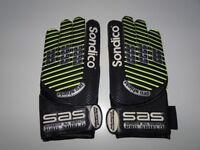 Sondico Advanced Technology Pro Shield Football Goalkeeper Gloves Soccer Sports Games Hand Quality