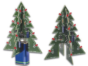 Make your own electronic Christmas tree