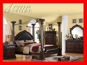 Tuscany Espresso Bedroom Suite on Sale @ Yvonne's Furniture