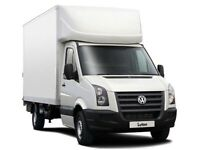 24-7 MAN & VAN LUTON VAN HIRE WITH DRIVER CHEAP HOUSE REMOVALS MOTORCYCLE BIKE MOPED RECOVERY UK