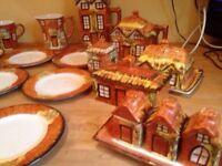 Vintage price Kensington cottages tableware