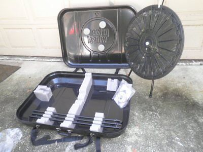 31 Tabletop Or Floor Standing 18-slot Trade Show Raffle Prize Wheel With Case