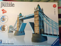 Ravensberger 3D Tower Bridge jigsaw