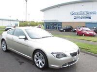 BMW 6 SERIES 4.4 645CI 2D AUTO 329 BHP